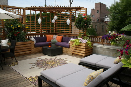 corner sofa sets and modern dark chairs with - Design Backyard Patio