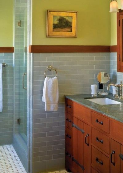 Craftsman Bathroom design ideas