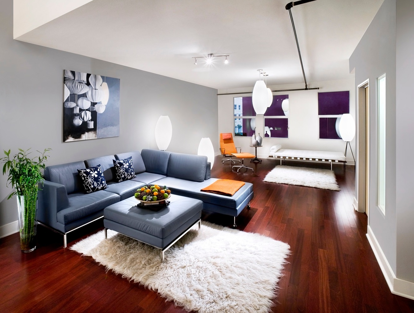 Cute Modern Living Room Set Up In Decor