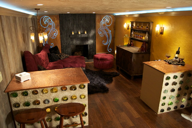 21 amazing eclectic basement design ideas