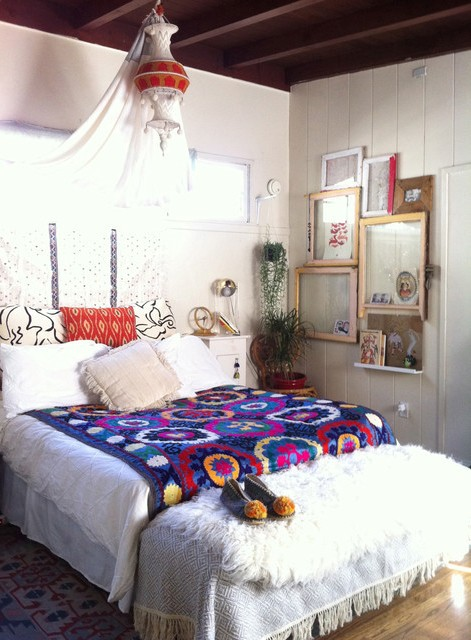 Eclectic bedroom los angeles