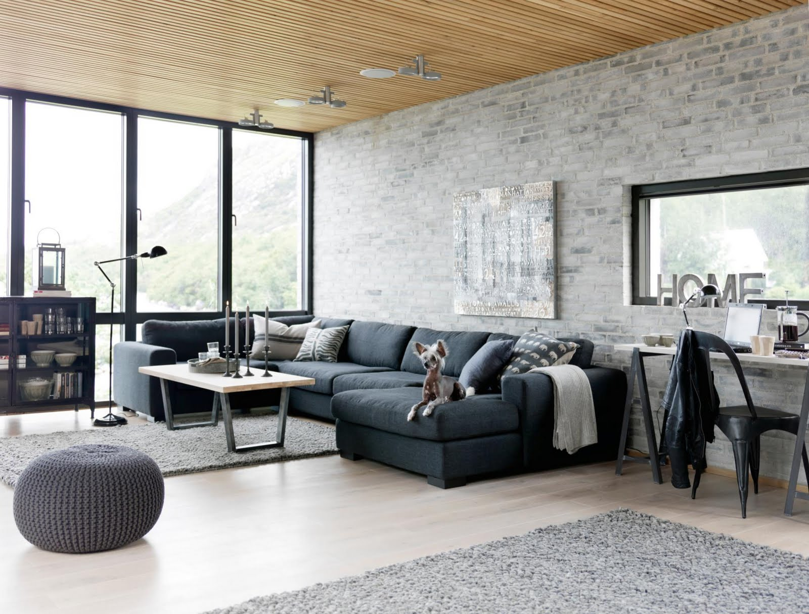 Exquisite Industrial Living Room