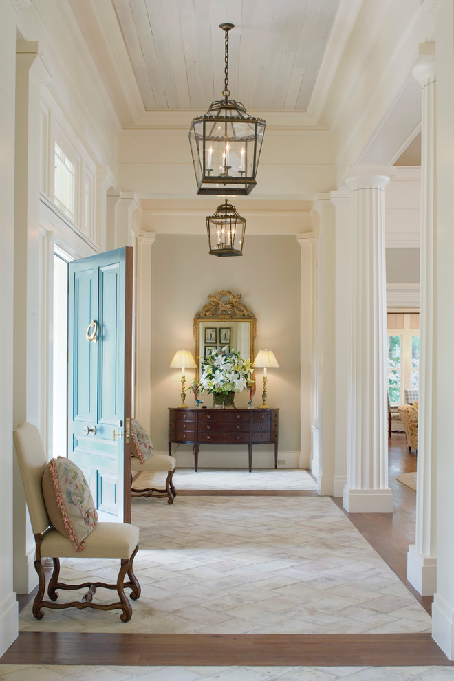 Incredible-Entryway-Tables-decorating-ideas-for-Entry-Traditional-design-ideas-with-Incredible-beige-molding-beige