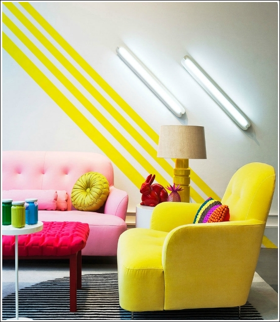 30 Ways to Decorate Your Home With Neon Colors