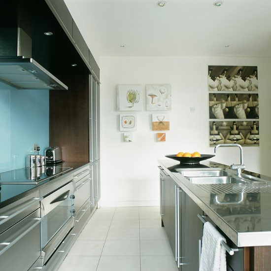 Kitchen-contemporary-galley