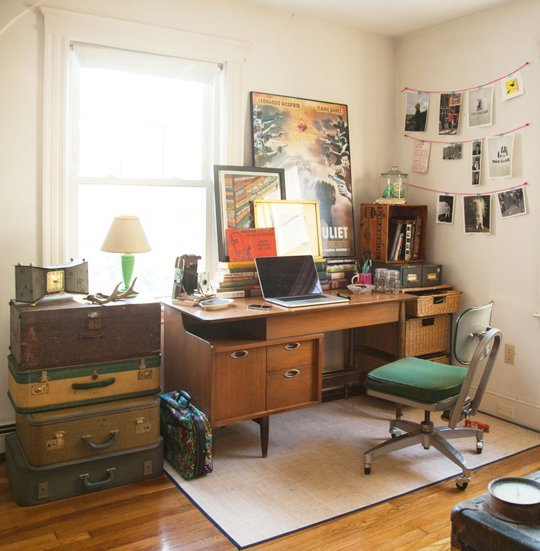 Laura's Whimsical Eclectic Home Office