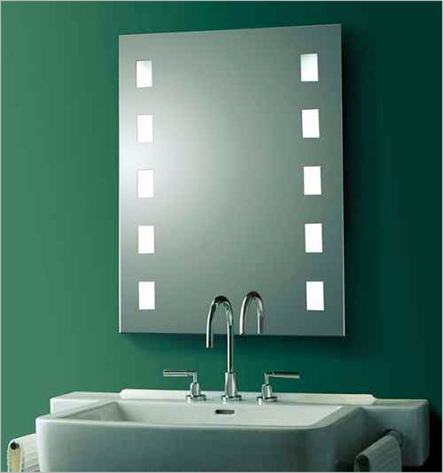25 modern bathroom mirror designs for Bathroom mirror ideas