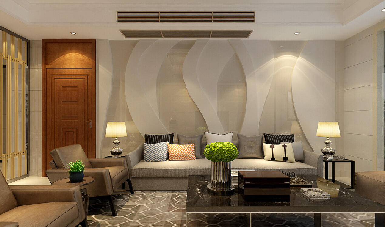 Living Room Wall Design Ideas 2015