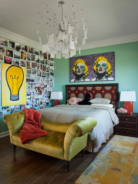 Los Gatos Residence eclectic-bedroom