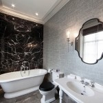 21 Cool Black And White Bathroom Design Ideas