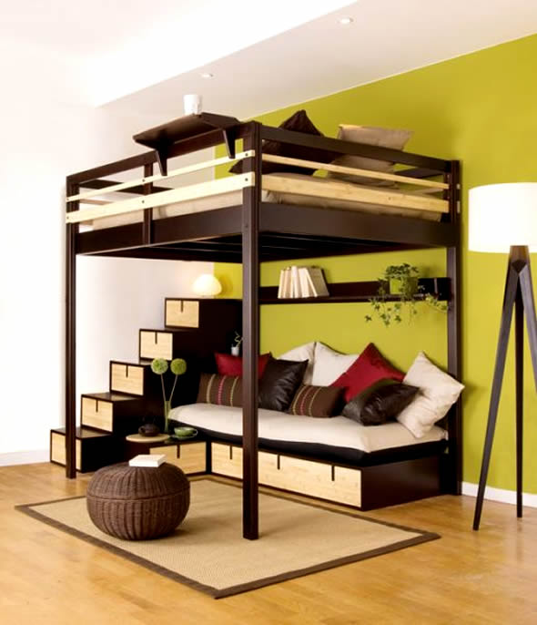 Marvelous Small Bedroom Ideas With Bunk Bed