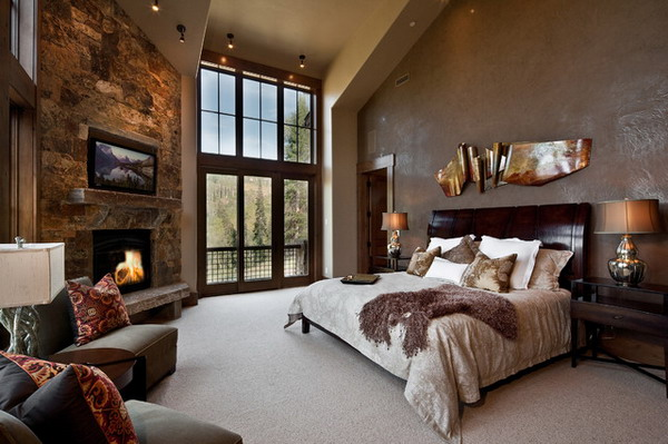 Master Bedroom Ideas With Wall Feature