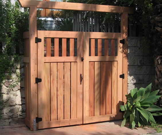 Modern Asian Fusion Double Entry Gate