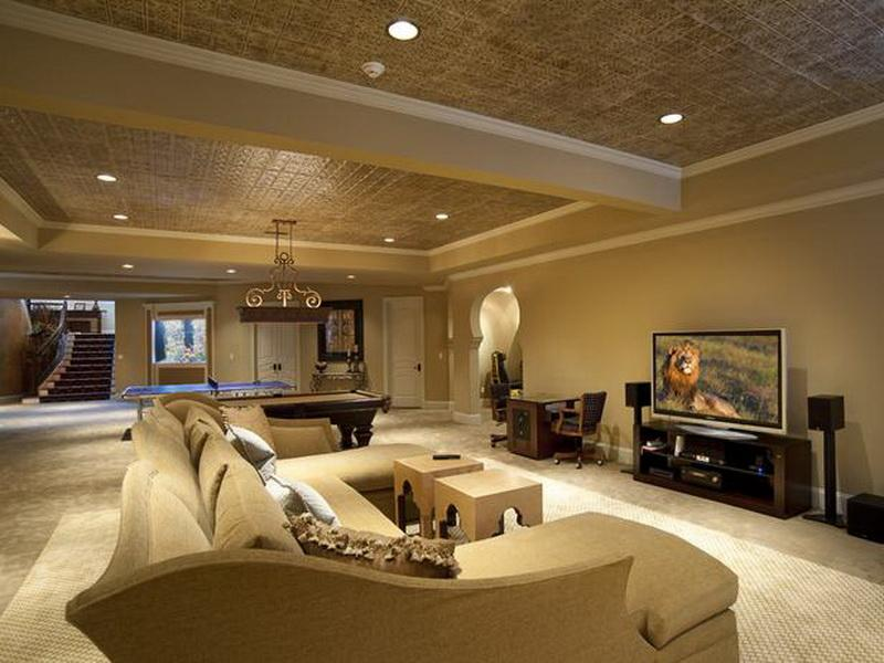 Modern Basement Finishing Ideas