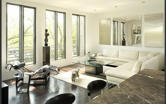 Modern Luxurious Living Room Interior Design