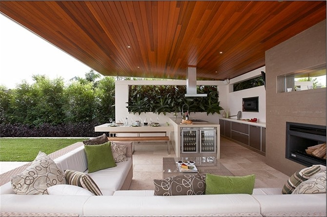 modern outdoor kitchen design ideas - Outdoor Design Ideas