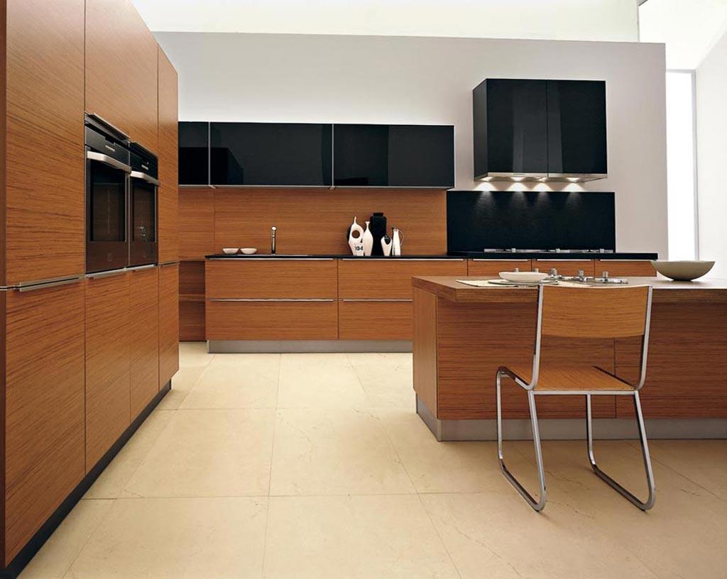 modern wooden kitchen design ideas with modern wooden