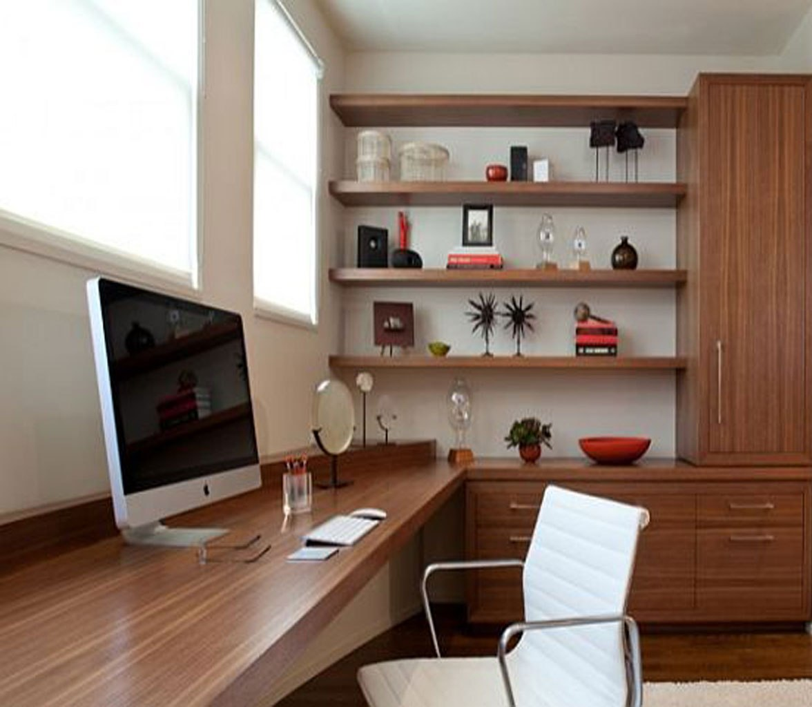 24 Luxury And Modern Home Office Designs: 25 Stunning Modern Home Office Designs