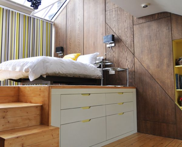 Modern-loft-bed-perfect-for-small-bedrooms