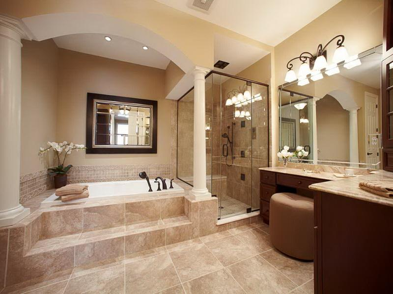 photo gallery of the traditional master bathroom designs - Bathrooms Designs