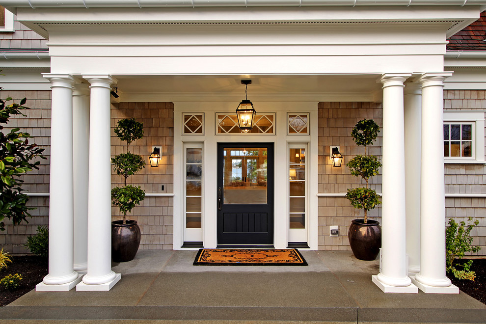 25 amazing traditional entry design ideas for Exterior entryway design ideas