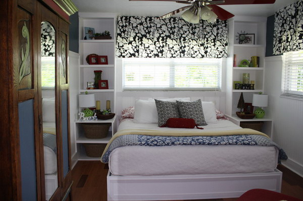 25 cool bed ideas for small rooms - Small space bedroom furniture ...