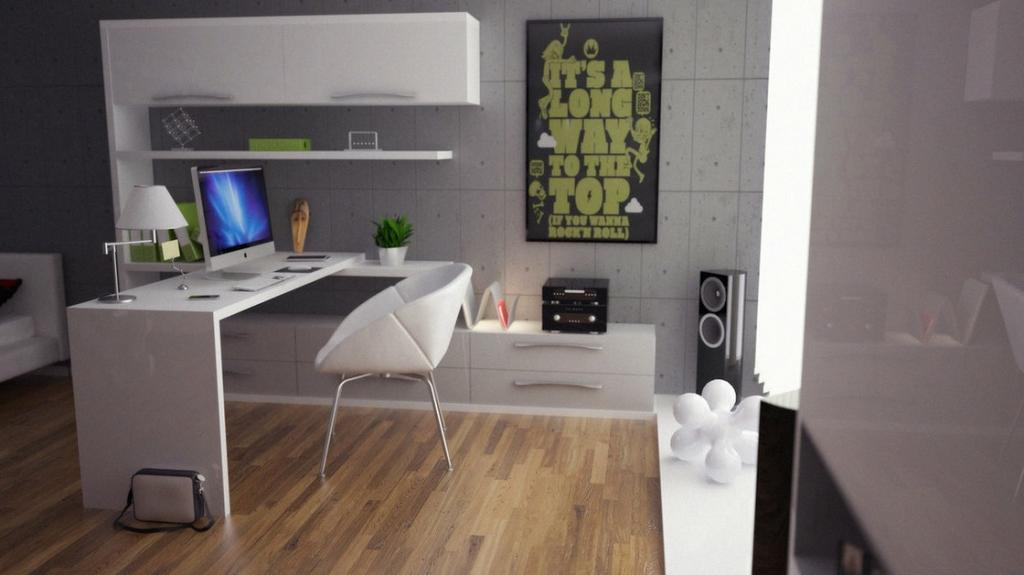 Stunning Modern Office Decorating Ideas For Men