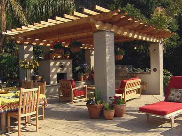 Traditional-French-Outdoor-Patio-Design
