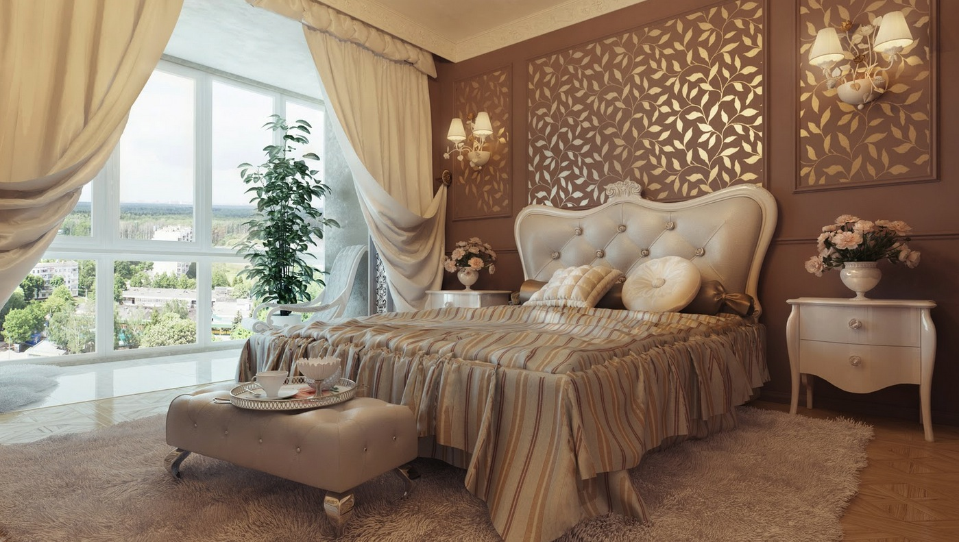 Traditional neutral bedroom design. 25 Stunning Traditional Bedroom Designs