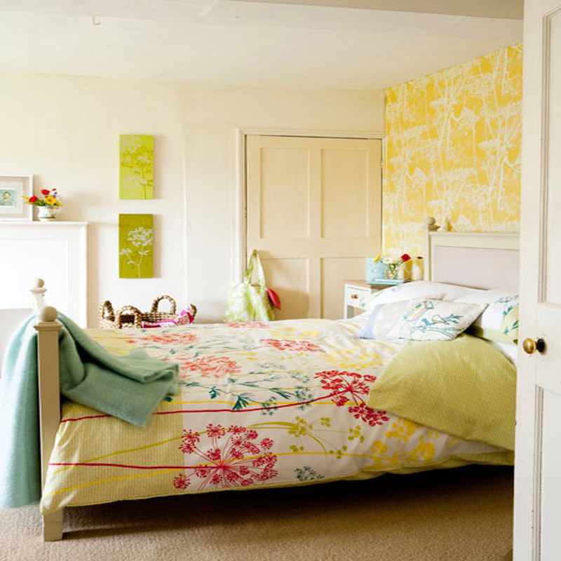 top 20 colorful bedroom design ideas 14886 | very colorful and bright bedroom at awesome colorful bedroom design