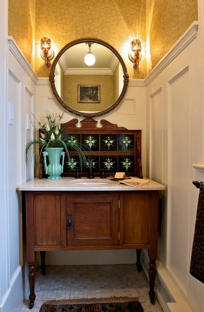 Vintage Washstand craftsman-bathroom