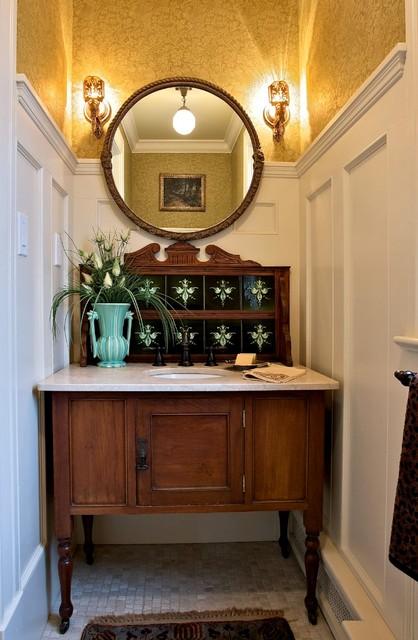 Vintage Washstand craftsman-bathroom