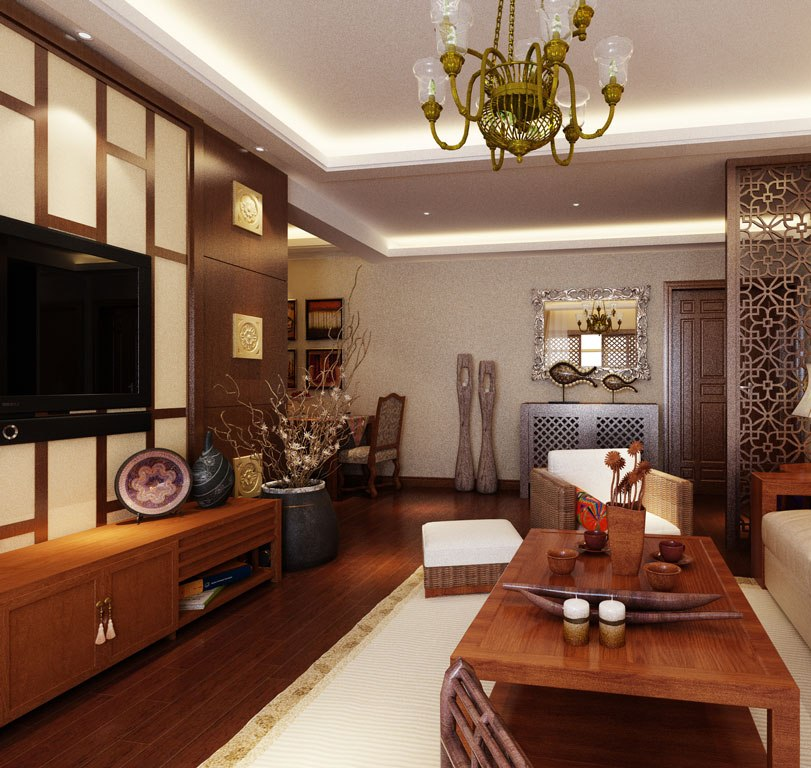 Asian Inspired Living Room: 25 Best Asian Living Room Design Ideas