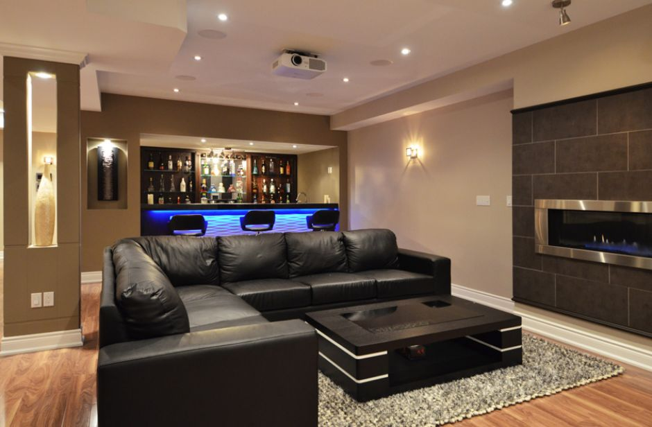 Basement Designs Creative 21 stunning contemporary basement designs