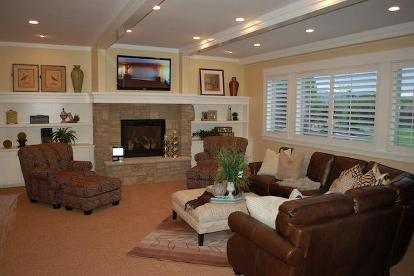 basement-formal-fireplaces
