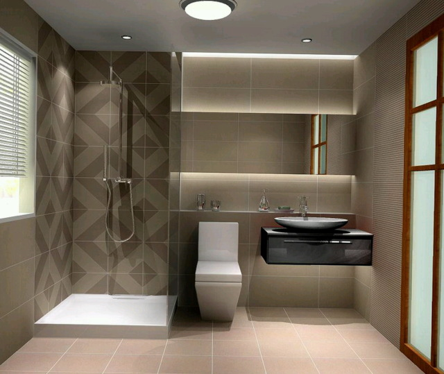 30 best bathroom designs of 2015 for Small bathroom decor ideas 2016