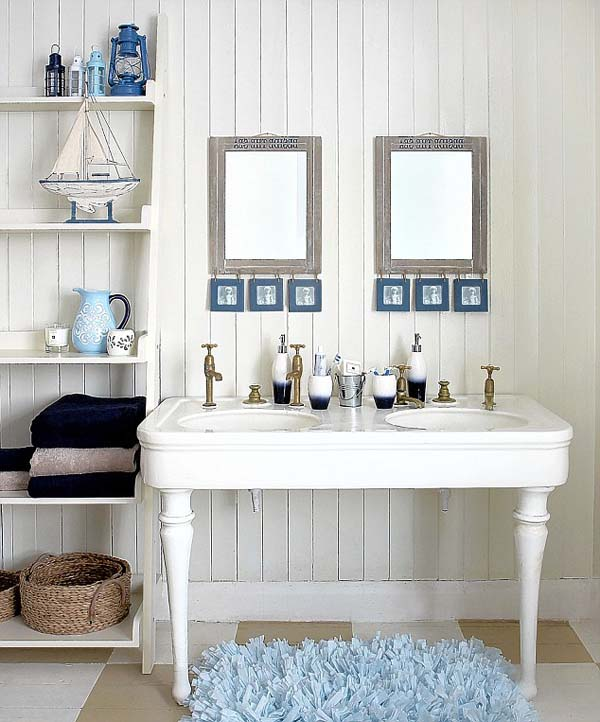Beach House Bathroom Ideas: 25 Awesome Beach Style Bathroom Design Ideas