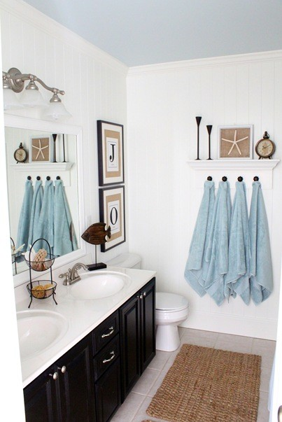 beach themed bathroom accessories picture ideas