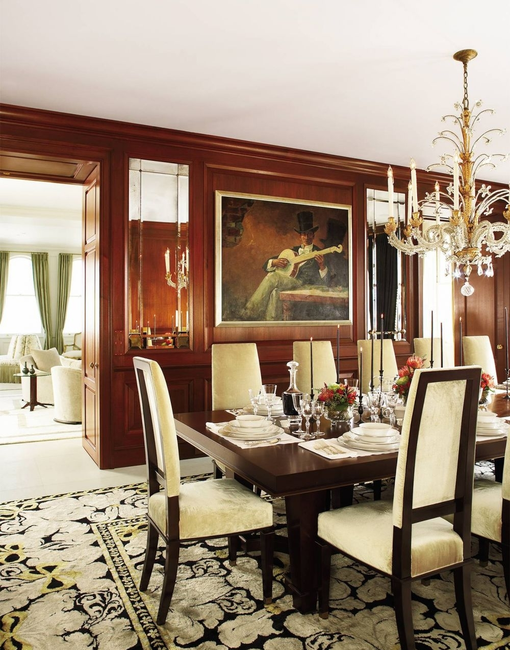 25 awesome traditional dining design ideas for Beautiful traditional dining rooms