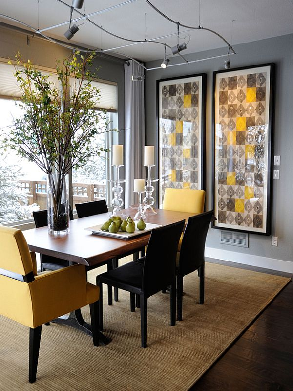 Casual Soothing Dining Room