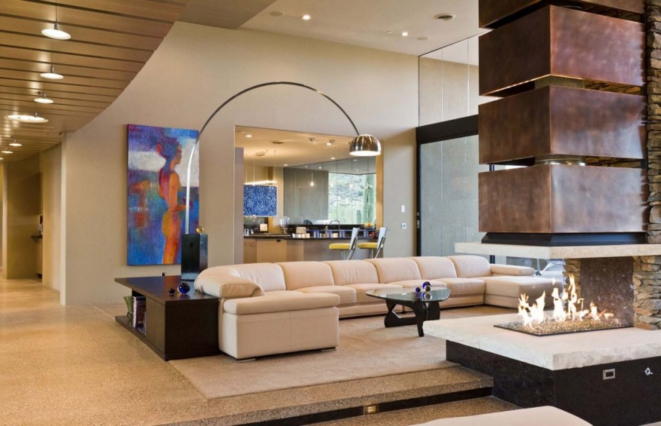 charm-cozy-living-room-with-arch-lamp-modern-luxury-home
