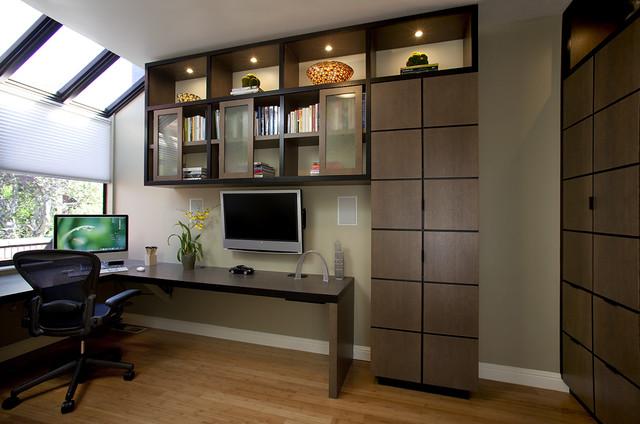 contemporary-home-office-modern-study-room-design-contemporary-office-furniture-home-corner-desk-custom-cabinetry-custom-deskbookshelves