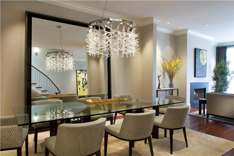 Contemporary Modern Retro Classic Dining Room