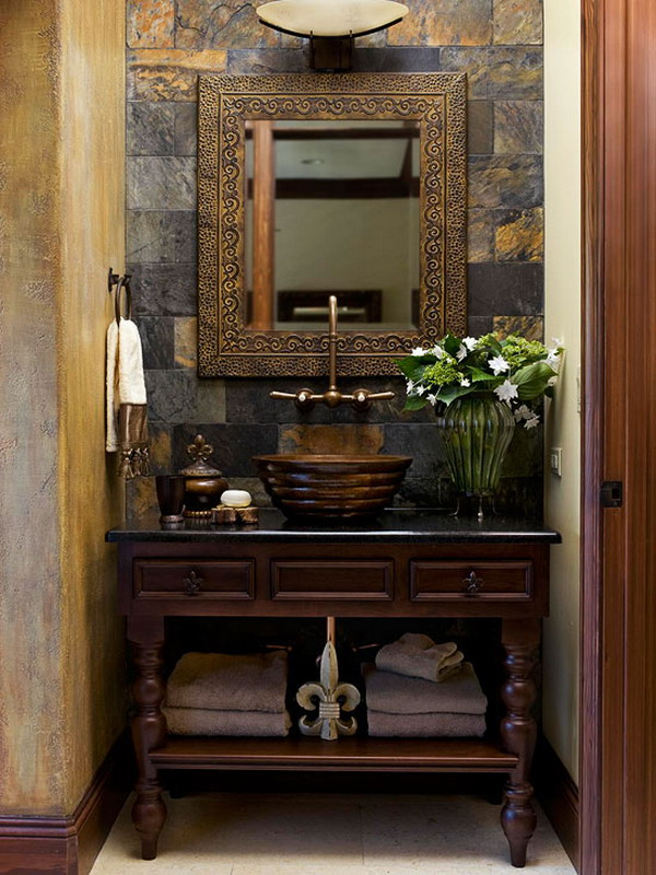 cool-eclectic-small-bathroom-vanity-design-with-slate-wall-mirror-cabinet-vessel-sink-ideas-vanity-plans-wall-mount-lighting-luxury-vanities-los-angeles-inexpensive