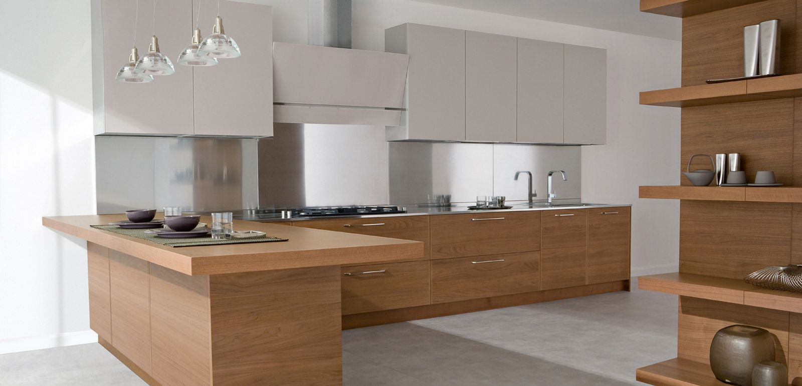 Wooden Kitchen Design Ideas Part - 41: Design-ideas-home-design-inspiration-wood-and-lacquered-