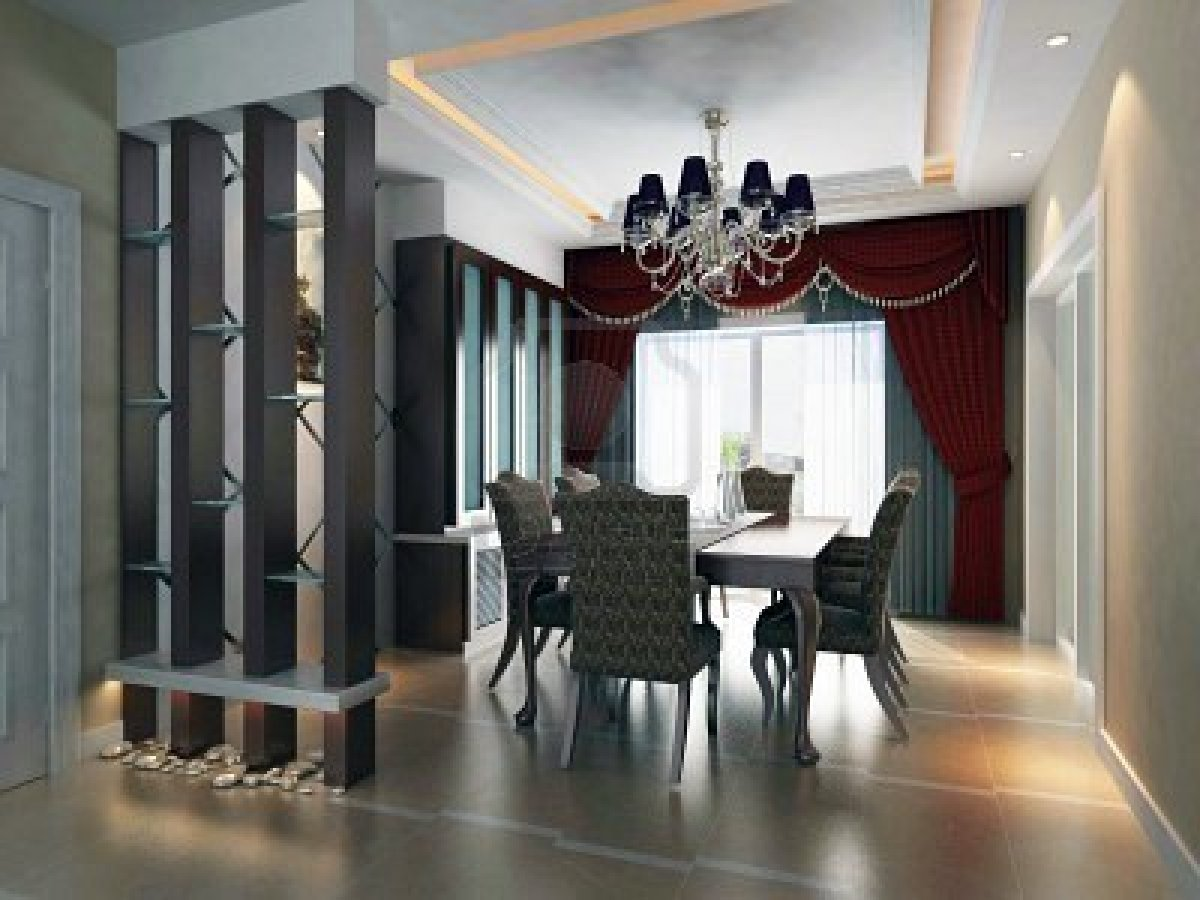 Contemporary Dining Room Design Ideas Part - 47: Dining-room-chic-idea