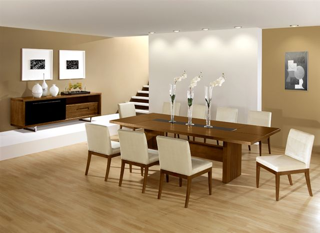 Dining Room Modern Minimalistic Style