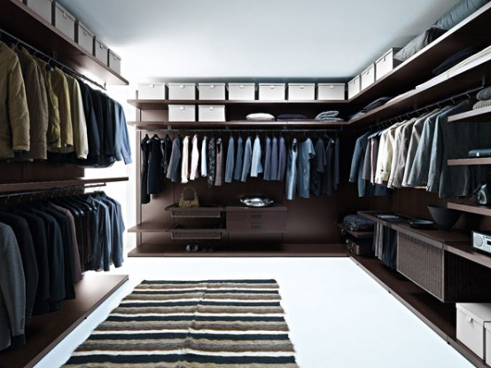 Doc Mobili Walk In Closet Contemporary Rendering