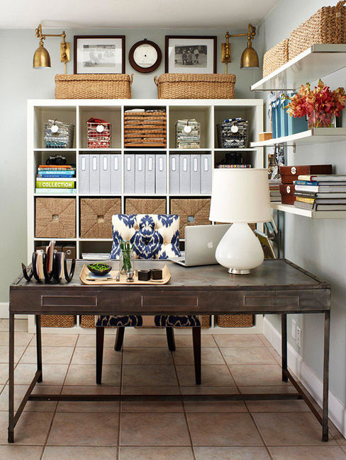 25 Beautiful Eclectic Home Office Design Ideas