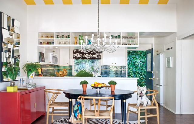 Attirant Eclectic Kitchen (1)